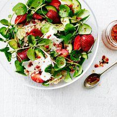 Strawberry, Quinoa, and Ricotta Salata Salad