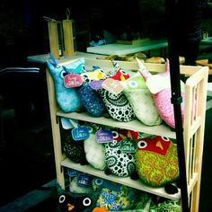 Cute creations from the Cotton District Arts Festival artisans