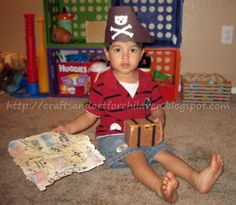 Crafts~N~Things for Children: Pirate Crafts and a Treasure Hunt