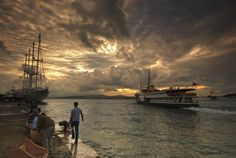 morning fisherman by globalunion