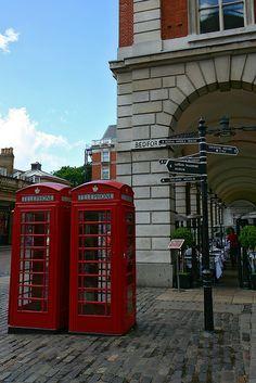 Covent Garden ~ London, England