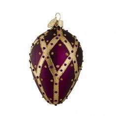 Brink Chapel Royal glass tree decoration