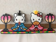 Bead Patterns, Perler Beads, Pixel Art, Serenity, Hello Kitty, Cool Stuff, Board, Happy, Projects