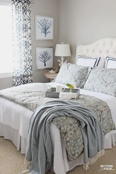 Fabulously Frugal Master Bedroom Decor - CHECK PIN for Lots of DIY Bedroom Decor Ideas. 57338237 #bedroomdecor #bedroomdesign