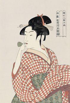 Ukiyoe - Utamaro Kitagawa