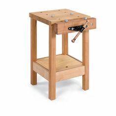 Small Workbench, Garage Workbench Plans, Workbench Designs, Woodworking Bench Plans, Woodworking Hand Tools, Wood Tools, Woodworking Workbench, Woodworking Furniture, Custom Woodworking