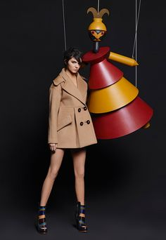 Fendi Fall'15 campaign feat. Kendall Jenner