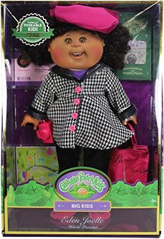 Just like you, Cabbage Patch Kids are growing up! Each 18'' Big Kid is extremely limited edition in nature and will be retired after a short production run The accessories and dress will match the Kid's unique personality and will be the highest end CPK apparel ever