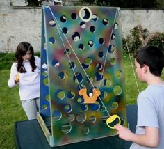 Rental of large wooden games of animation, traditional games for special .