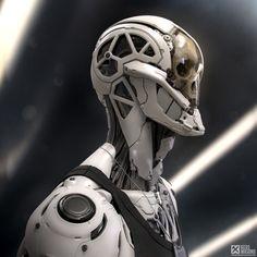ArtStation - Rockerbot Re-rendered, by KEOS MASONS - Marco Plouffe