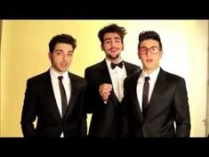 The greetings of Il Volo to Chi Magazine Happy Birthday Piano, Funny Happy Birthday Song, Funny Marvel Memes, Dance Humor, Youtube, Emoticon, 20 Years, Pandora, Anna