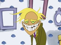 """When Freaky Fred paid Courage a visit.   14 Times """"Courage The Cowardly Dog"""" Left You Deeply Disturbed"""