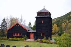 Skrukkelia chapel, built in 1923, Norway