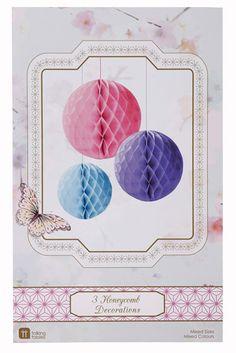 Wabenballset pink/lila/blau Mix bei www.party-princess.de