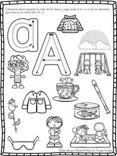 Educación Preescolar, la revista: Práctica de vocales