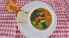 Gemüsesuppe / soup with vegetables
