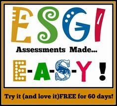 Kindergarten: Holding Hands and Sticking Together: ESGI- Assessments made EASY!