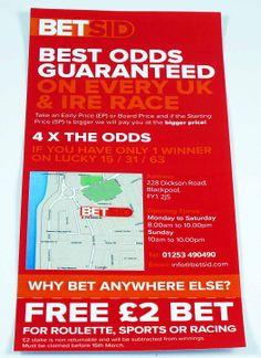 Bedsid Leaflets Leaflets, Blackpool, Brochures, Flyers