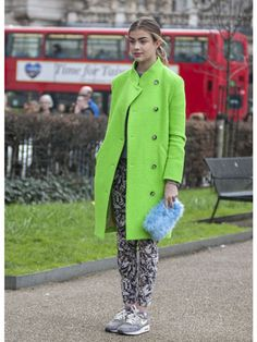 Day 1 Street Style at London Fashion Week