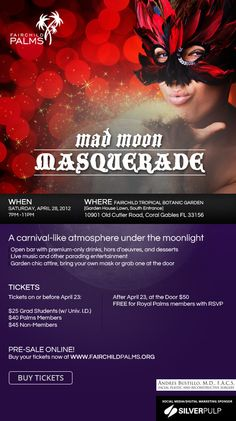 Lalchandani Simon Sponsors the Fairchild Palms Mad Moon Masquerade