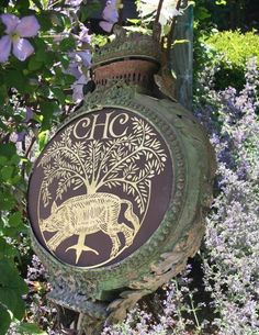 Chalk Hill Clematis Farm Sign.