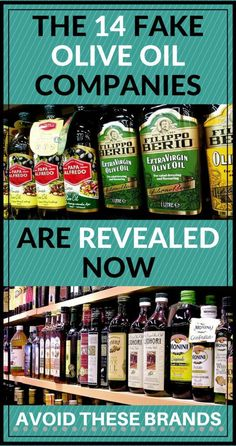 14 Fake Olive Oil Companies Have Been Revealed Now – Try and Avoid Them By all Means