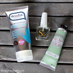 If cold temps leave you with dry hands and cuticles, read on to see  How I Rescued My Hands from Winter! #skincare #beauty #winterskincare #handcream #skinfix #cnd #solaroil #loccitane #loveloccitane #almonddelicioushands #handcare #nailcare #bblog #beautyblog #enjoytheviewblog