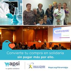 Colabora con Fundación para la #Fibromialgia y el Síndrome d Fatiga Crónica. Sácala del olvido http://wapsi.org/fibromialgia