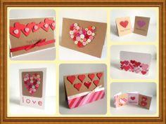 Handmade Valentines Cards!
