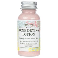 Acne Drying Lotion For Acne and Oily Skin Types With by OhSudz