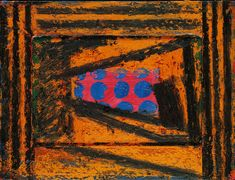 Prizeman's Perspective 1978 - 1979 11 x 14 x Oil on wood Abstract Expressionism, Abstract Art, Abstract Paintings, Howard Hodgkin, Composition Design, Cool Art, Awesome Art, Painting & Drawing, Printmaking