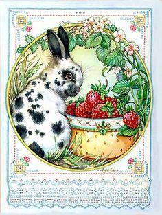 Berry Rabbit By Leesa Whitten