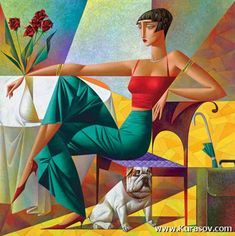 cuadros-modernos-decorativos-de-mujeres-cubistas