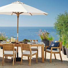 meuble de coin repas pour salle à manger en bois exotique et table avec chaises