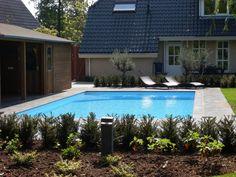 Met Arjan Brok Buitengewoon plezier bent u zowel verzekerd van de perfecte #tuininrichting als de ideale #zwembadaanleg. Een combinatie van beide bedrijfsonderdelen behoort uiteraard ook tot de mogelijkheden. Het betreft een heel belangrijk voordeel van de organisatie. Het #zwembad en de #tuin kunnen elkaar namelijk, als er sprake is van een doordacht #ontwerp, enorm versterken. www.arjan-brok.nl. #tuin #zwembad #buiten #plezier #arjanbrok Pools, Outdoor Decor, Home Decor, Decoration Home, Room Decor, Home Interior Design, Swimming Pools, Ponds, Home Decoration