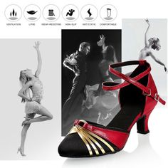 GetMine Womens Latin Dance Shoes Satin Ballroom Salsa Wedding Performance Dance Shoes 2.2 Heel Red >>> Continue to the product at the image link.-It is an affiliate link to Amazon. #WeddingShoes