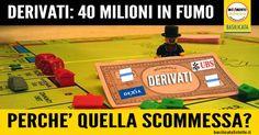 Con i derivati la Regione gioca d'azzardo sulla pelle dei lucani: evidenti le colpe della politica