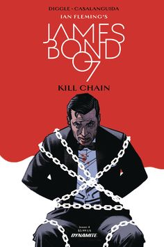 An exclusive first look at the Dynamite literary titles shipping in October 2017 based on the minds of Martin, Burroughs, Fleming, Butcher and Brown. Character Concept, Concept Art, James Bond Books, Licence To Kill, Comics Online, Comic Covers, Cover Art, Science Fiction, Novels