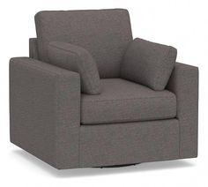 Leather Dining Room Chairs #WroughtIronPatioChairs  #UpholsteredSwivelChairs Purple Chair, Upholstered Swivel Chairs, Wrought Iron Patio Chairs, Leather Dining Room Chairs, Cool Chairs, Armchair, Furniture, Home Decor, Sofa Chair