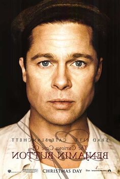 Oscar Nominees The Curious Case of Benjamin Button, starring Brad Pitt and Cate Blanchett David Fincher, Movie Titles, Film Movie, Movie Posters, Tilda Swinton, Cate Blanchett, Elias Koteas, Brad Pitt Photos, Longest Movie
