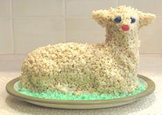 Rice Krispie Lamb