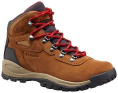 Built tough, waterproof and stylish with a premium full-grain leather and suede upper, this comfortable, durable hiking boot for women takes its design cues from classic mountaineering boots. Inside, the midsole is lightweight and cushioned with enough support to keep up with even your most ambitious day trips. Hold tight to varied terrain with super-gripping, non-marking rubber outsoles that love to hug good dirt (not to mention rocks, grass, gravel and roots).