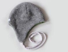 Wollmütze ★ Jungs ★ grau von pickNicker auf DaWanda.com