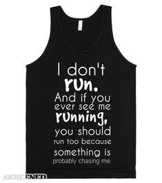 I Don't Run #Skreened