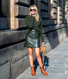 Street Style: Olive Green Hues