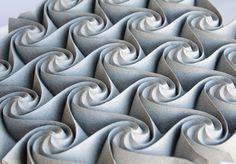 Elaborate Paper Origami Tessellations and Kusudamas by Ekaterina Lukasheva (Colossal) Origami Artist, Origami Paper Art, Paper Crafts, 1000 Paper Cranes, Paper Video, Tesselations, Colossal Art, Paper Decorations, Etsy
