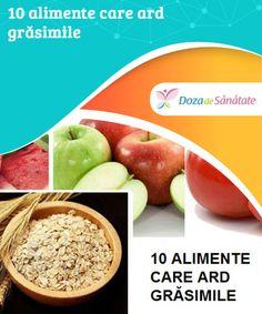 10 alimente care ard grăsimile  Știai că ovăzul este unul dintre cele mai sănătoase și complete alimente? Acesta oferă o senzație de sațietate, îmbunătățește digestia și accelerează metabolismul. Cantaloupe, Healthy Recipes, Healthy Food, Apple, Vegetables, Smoothie, Healthy Foods, Apple Fruit, Healthy Eating Recipes