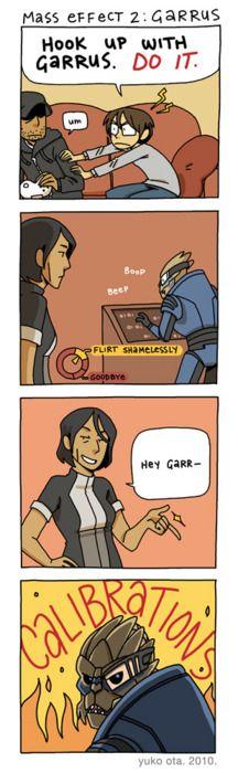 Funny Garrus comic. Mass Effect