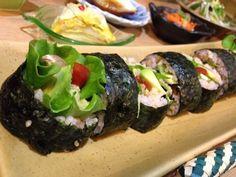 菜食レストランAmigo 玄米ベジ太巻寿司