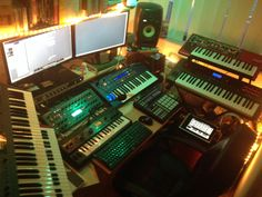 My humble studio, let's hope my Alaska Album will reach many people over the world. Greetz from The Netherlands;-)